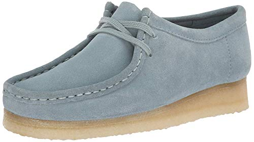 clarks wallabees blue - 2