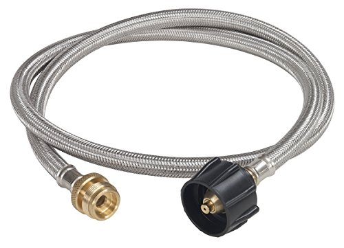 ADAPTER HOSE LP 4FT by BAYOU CLASSIC MfrPartNo MCRI (Bottle For Heater Patio Gas)