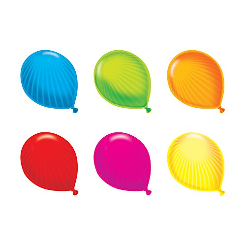 Trend Enterprises Party Balloons Mini Accents Variety Pack, 36 per Package (T-10884)