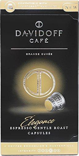 Davidoff Café Elegance Nespresso Capsules X 4 boxes (10 capsules each box) (Davidoff Cafe)