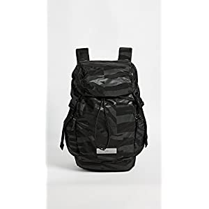 adidas by Stella McCartney Women's Athletics Large Backpack, Black/Gunmetal, One Size