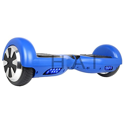 "Hoverboard 6.5"" UL 2272 Listed Two-Wheel Self Balancing Electric Scooter with Bluetooth Speaker (Blue)"