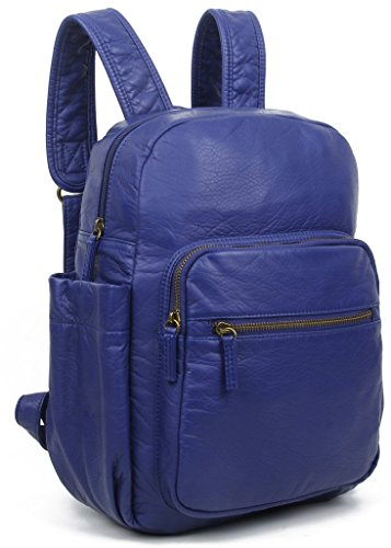 Leather Blue Vegan Marie Navy Creations Friendly Backpack Animal by Purse Ampere Friendly Eco O77wqZ