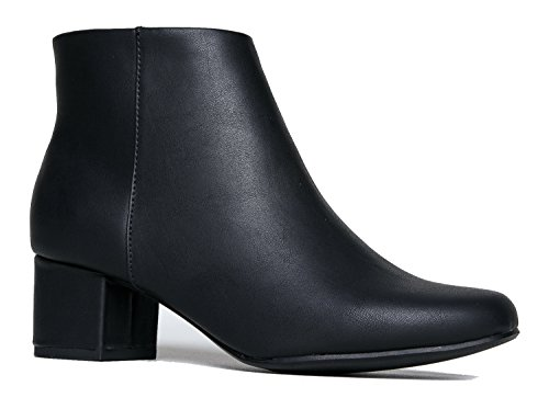 Jody Ankle Boot, Black PU, 8.5 B(M) US