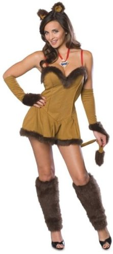 Cowardly Lioness - Cowardly Lioness Costume - Medium - Dress Size 10-12