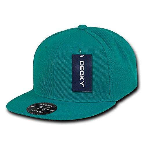 DECKY Retro Fitted Cap, Aqua, 7 -