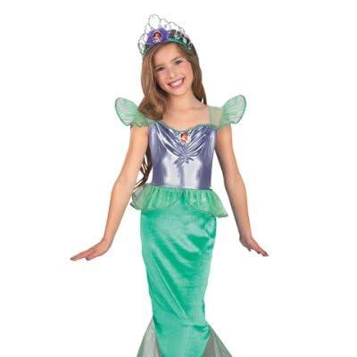 Disney Princess Ariel Dress Up Costume Free Shipping