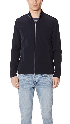 Theory Men's Bellvil PK Contrast Sweater, Eclipse Multi, L by Theory