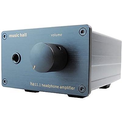 Music Hall HA11.1 high-end Headphone Amplifier, 100-240v Capable