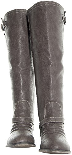 Breckelles Outlaw-81 Reitstiefel Taupe-81