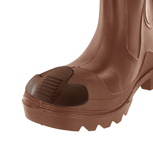 Lugar de Trabajo Pesado deber Boot para los dedos–para dedos Protector Cover–ampliar la vida para botas y proteger contra para rozaduras