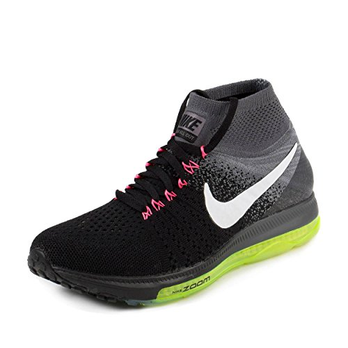 Mens Nike Air Zoom All Out Flyknit Running Shoes Price Compare. Nike  Women's Wmns Zoom All Out Flyknit, BLACK/WHITE-COOL GREY Amazon