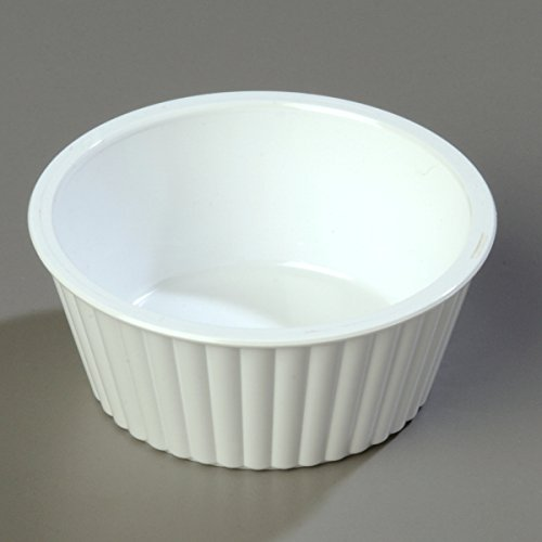 Carlisle 084502 SAN Fluted Ramekin, 4.5-o.z Capacity, 1.50 x 3.50'', White (Case of 48) by Carlisle (Image #9)