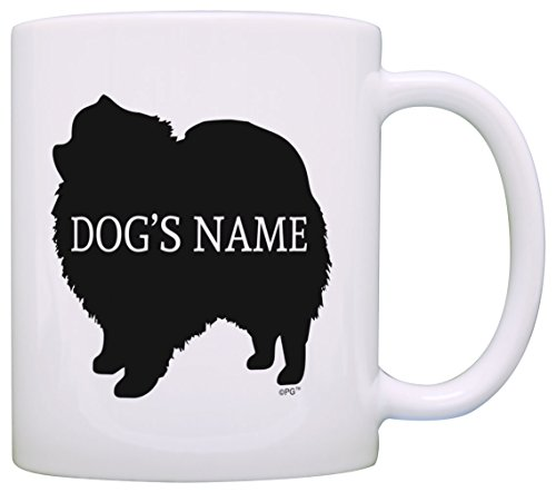 Personalized Dog Owner Gift Pomeranian Add Dog's Name Dog Lover Gift Coffee Mug Tea Cup -