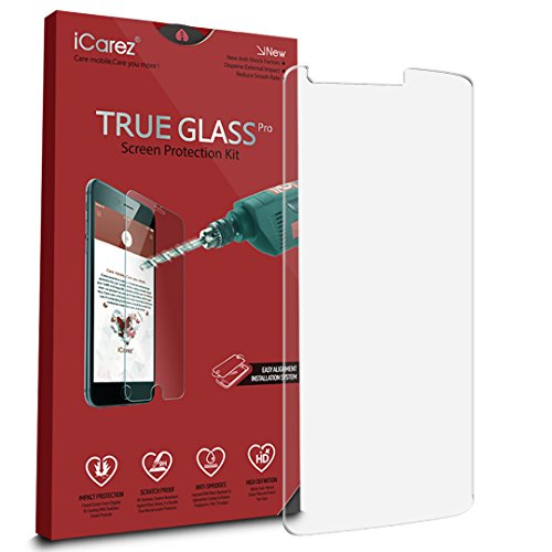 iCarez-Tempered-Glass-Screen-Protector-for-LG-G3-Easy-Install-with-Lifetime-Replacement-Warranty-1-Pack03mm-25D-9H-Retail-Packaging