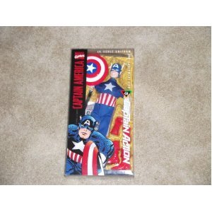 Marvel Comics Captain Action CAPTAIN AMERICA 1/6 Scale Uniform and Equipment Set