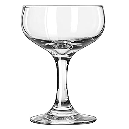 3c57aedb34f Image Unavailable. Image not available for. Color: Libbey 3773 Embassy 5.5  oz Champagne Glass ...