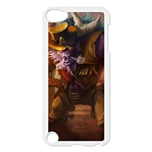 iPod Touch 5 Case White League of Legends Longhorn Alistar OIW0401258