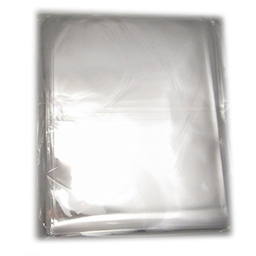 100Pcs 12x16 Clear Cello/Cellophane Bags Treat Bag for Bakery ,Cookie, Candies, Party -