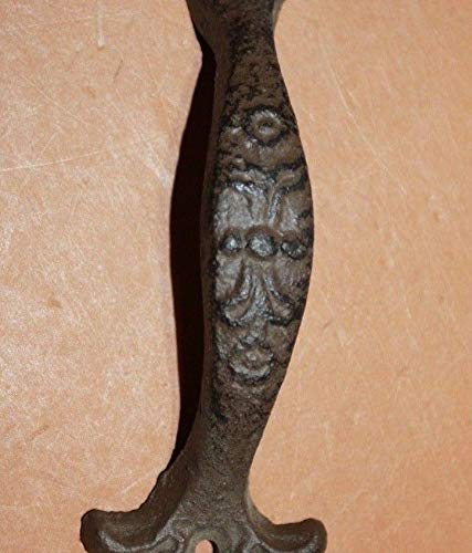 Vintage Look Victorian Kitchen Cabinet Pulls, 6 3/8 inch Length, Cat Iron, Bulk Set of 16 HW-18 by Southern Metal (Image #7)