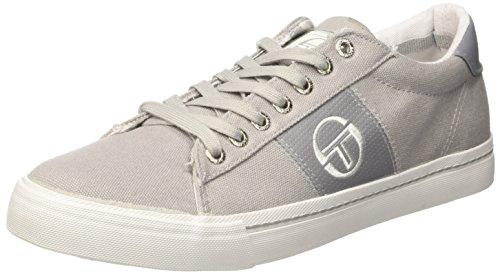 Sergio Tacchini Positano Canvas, Sneaker a Collo Basso Uomo Grigio (Ciment)