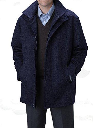 Affazy Dark Navy Car Coat Size = XXXL at Amazon Men&39s Clothing