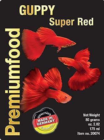Comida para peces guppy color azul - Guppyfood Special ...