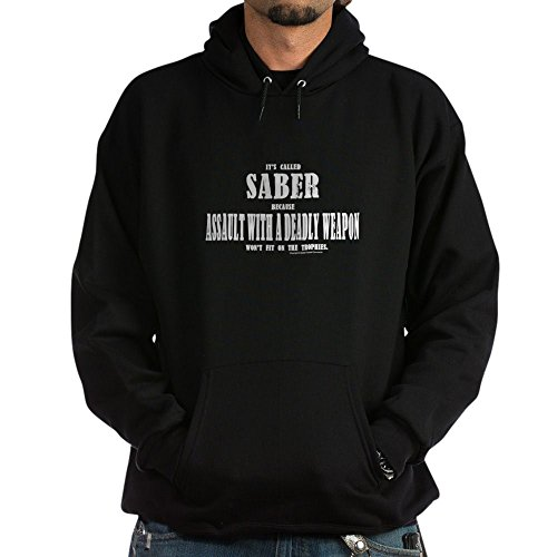 Saber Insulated Jacket - CafePress Assault-Black - Pullover Hoodie, Classic & Comfortable Hooded Sweatshirt