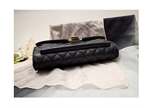 And Cross Chain Oblique Sleek Package Versatile Classic Bag Shoulder Single Gwqgz Argyle Temperament wPqUaxnYnF