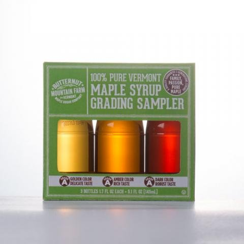 Maple Syrup 3 Bottle Grading Sampler (Maple Syrup Vermont)