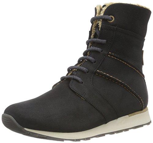El Naturalista ND97 WALKY - botas de caño bajo de cuero mujer negro - negro