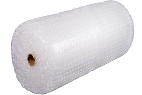 Bubble Cushioning Wrap Roll 48'' Wide x 100 ft - Medium Bubbles 5/16'', Clear