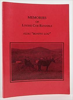 Book MEMORIES OF LOUISE COE RUNNElS. Alias