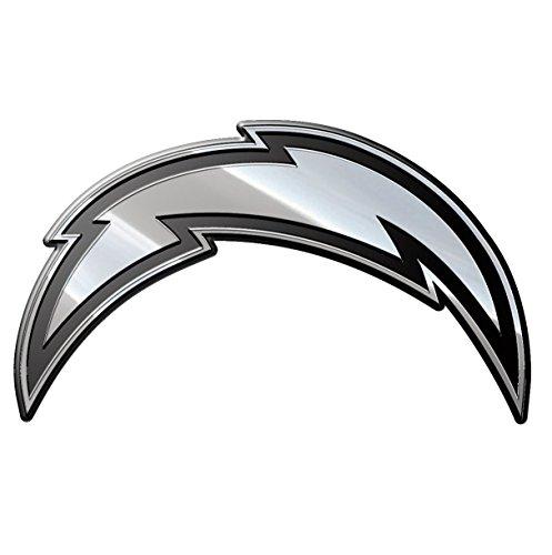 Team ProMark NFL San Diego Chargers Premium Metal Auto Emblem (San Diego Chargers Vinyl)