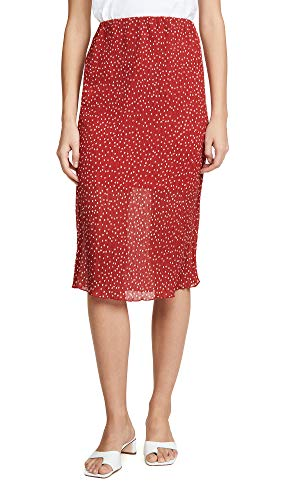 The Fifth Label Women's Assemblage Skirt, Red/White, X-Small