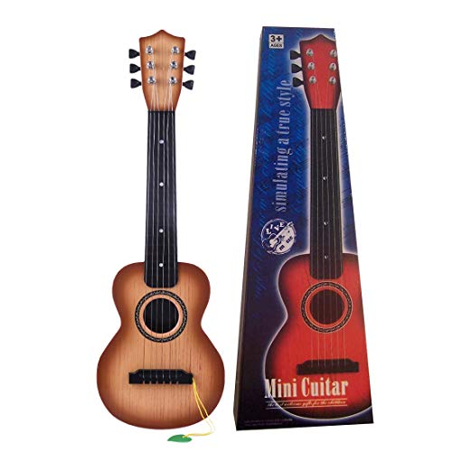RuiyiF Kids Guitar, Toddler Toy Guitars for Boys Girls Age 3-5 Years Old 6 Steel String Acoustic Guitar Kids with Pick 21 Inch (Kids Toy Guitar)