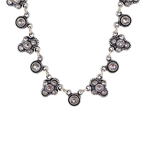 Anne Koplik Fancy Fila Bubble Necklace, Silver Plated Anne Koplik Designer Necklace