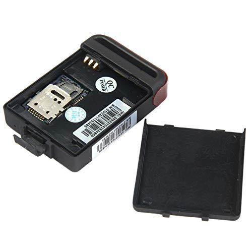 Acealto TK102-2 GPS Tracker Car gsm GPRS Localizador La Alarma SOS Veh/ículo de Seguimiento Negro