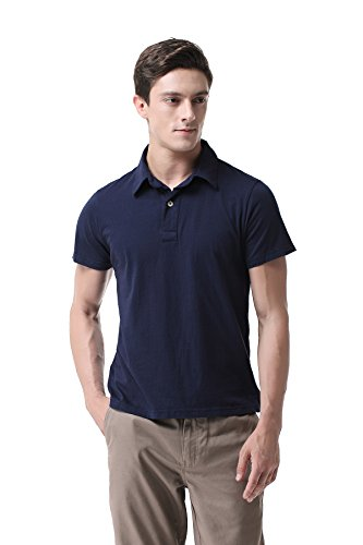 Pau1Hami1ton T-05 Shirt polo for men (L,Blue)