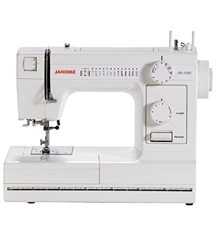 Janome HD1000 Heavy-Duty Sewing Machine with 14