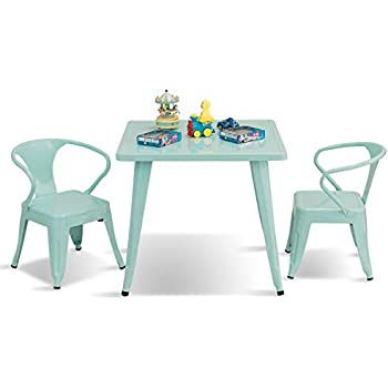 575cafce7fe Amazon.com  Delta Children Windsor Kids Wood Chair Set and Table (2 ...