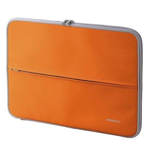 【2006年モデル】ELECOM 低反発発泡ポリウレタンインナーバッグ(参考収容寸法375*40 * 275mm) オレンジ ZSB-IB012DR B000HA4EXC
