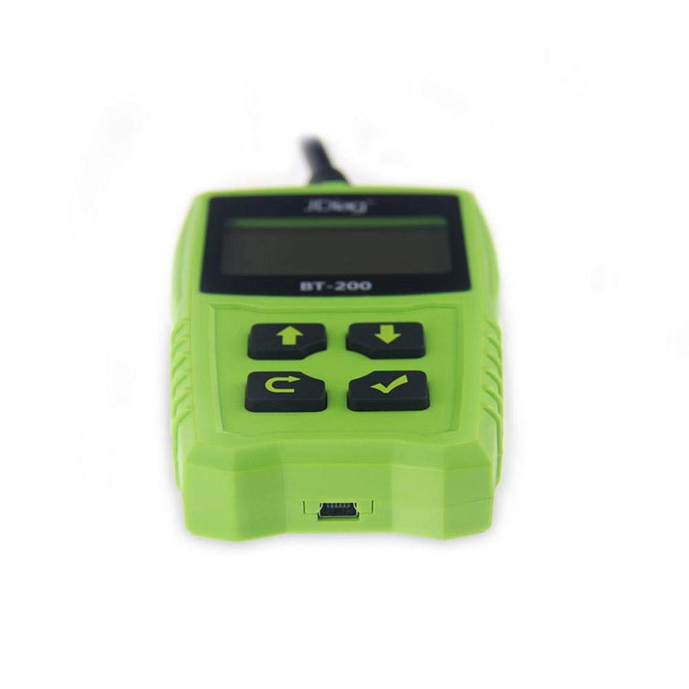 Zigtee JDiag FasCheck BT200 12V Auto Battery Tester Car Cranking and Charging System Test Scan Tool Battery Analyzer Diagnostic Tool for CCA MCA JIS DIN IEC EN SAE GB etc by Zigtee (Image #8)