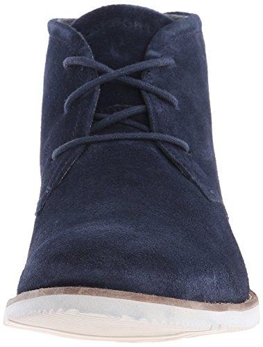 Rockport Ledge Hill 2del hombres Chukka Boot Azul