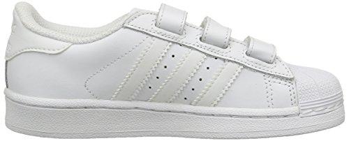adidas Superstar Foundation CF C - Zapatillas Para Niño Blanco (Footwear White/Footwear White/Footwear White)