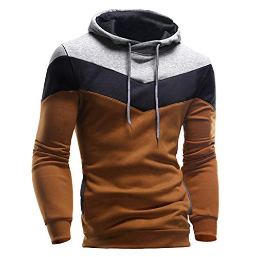 Fanteecy Mens Slim Fit Hoodie Co...