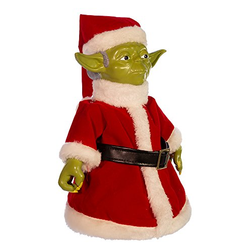 Kurt Adler Classic Yoda Table Piece/Treetop Figurine, 10-Inch (Christmas Disney Tree Toppers)