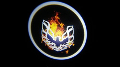 Firebird trans am Ghost Door Logo Projector Shadow Puddle Laser Led Lights 7w (Qty 2) FROM USA
