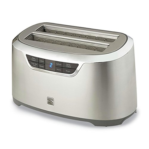 Kenmore Elite 76774 4-Slice Auto-Lift Long Slot Toaster in Stainless Steel Review