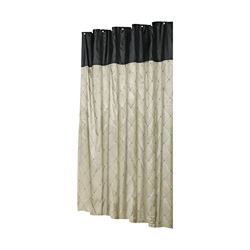 Compare Price To Brown And Gray Shower Curtain